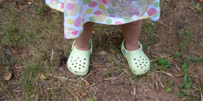 Alyssa with crocs.jpg