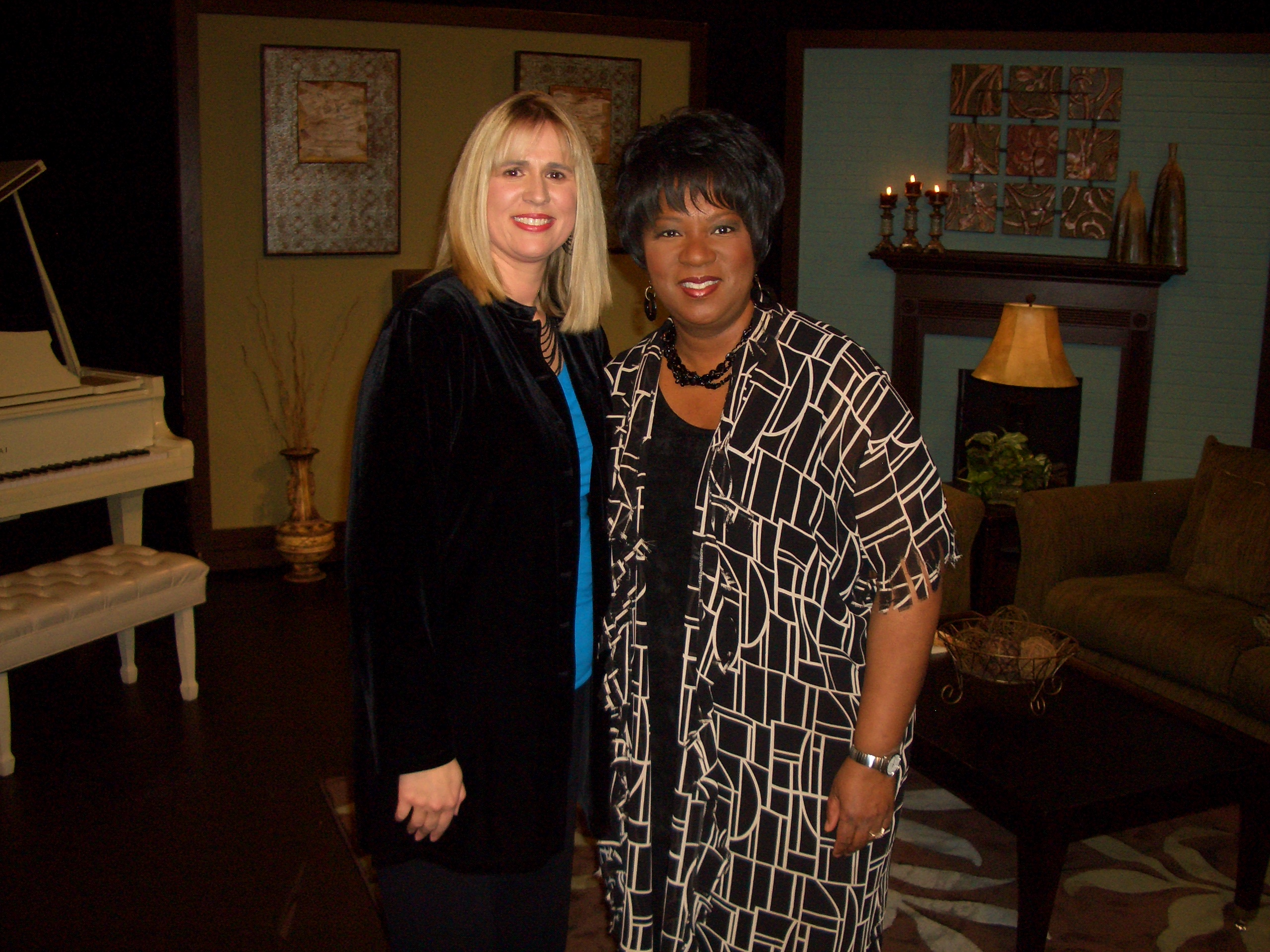 Featured guest on Babbie's House, hosted by Dove Award Singer & Song-writer, Babbie Mason which airs nationwide on Sky Angel and on WATC/TBN. http://www.babbiemason.com